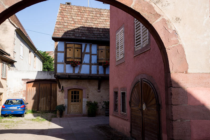 """Ribeauville, France (in the """"Jewish Quarter"""")"""
