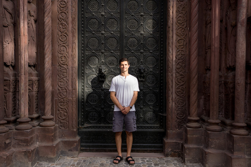Side Door of Basel Muenster