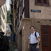 """Deeper in the """"Jewish Quarter."""" The Jews were expelled from Tuebingen in 1477."""