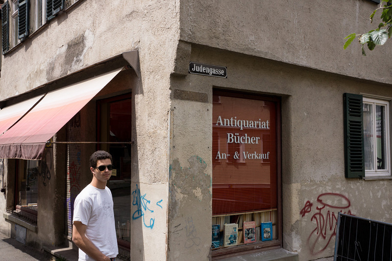 """Entrance to the former """"Jewish Quarter."""""""