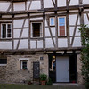 This was a community house, at the end of the Jewish Quarter, until 1477, when the Jews were expelled from Tuebingen.