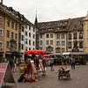Schaffhausen, Swtizerland am Rhein