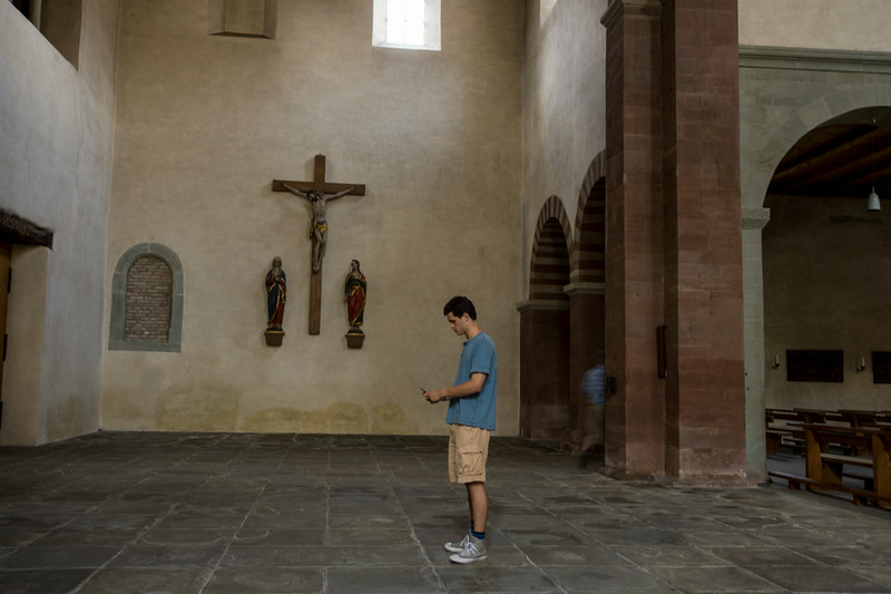 Island of Reichenau, foundations of this monastery date back to the 8th century.