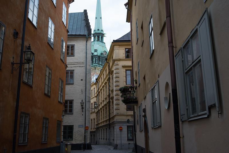 "Looking toward the ""German"" reformation church."
