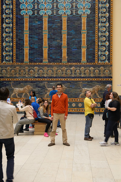 Ishtar's Gate at the Pergamon Museum and other scenes.