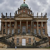 This is actually part of the palace complex, but it is now used as University of Potsdam (the university president has his office here).