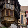 "Not ""Switzerland,"" but Colmar, France, which I visited with Elisha in 2014, but the museum which houses the Isenheim Altar was being renovated. Now beautifully restored, with a controversial addition (by architects Herzog and DeMeuron of Basel), with cavernous space, but not much ""sense."""