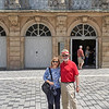 Cynthia & Jim outside Margravial Opera House 2019
