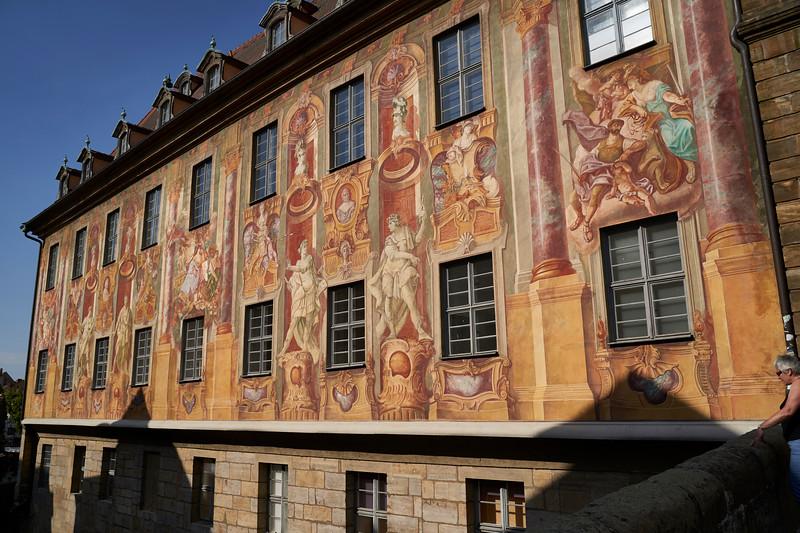 Side of Town Hall, Bamberg