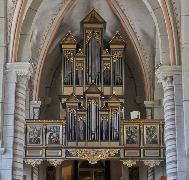 Neuwerkkirche, Goslar, 1186-1200, Baroque organ