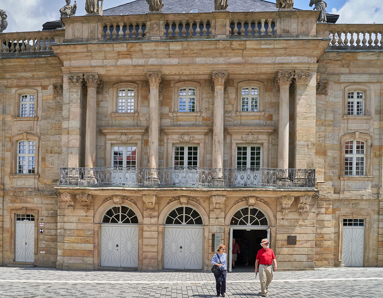 Margravial Opera House is a high Baroque opera house in the town of Bayreuth, Germany, built between 1745 and 1750. It's on the UNESCO World Heritage List.