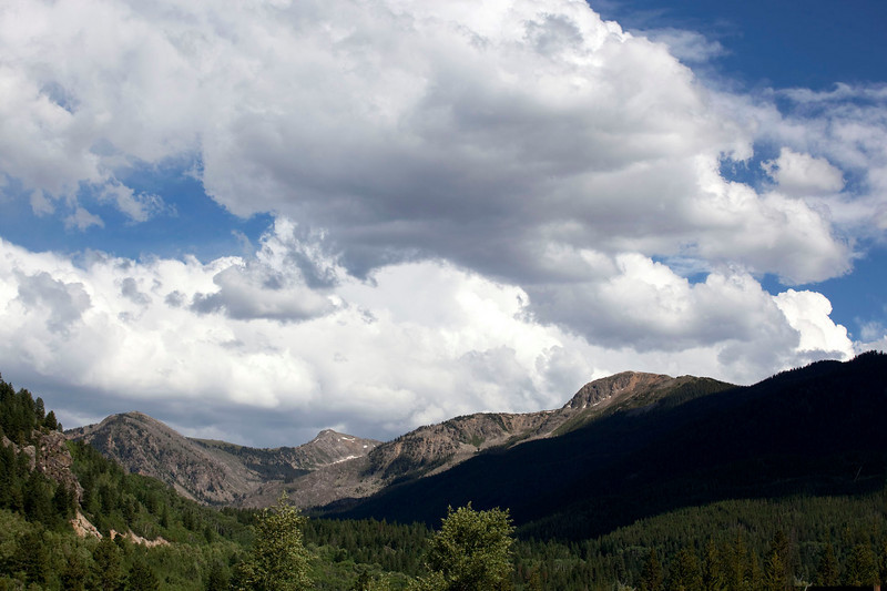 Sky over Independence Pass.