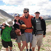 (l-r) Emanuel, Sofie, Elisha, Noah, on Lost Man Trail.