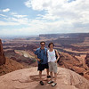 Dead Horse Point State Park--Elisha took the photo.