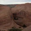 This is the section you see just before arriving at Delicate Arch.