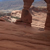 Elisha entering the Delicate Arch