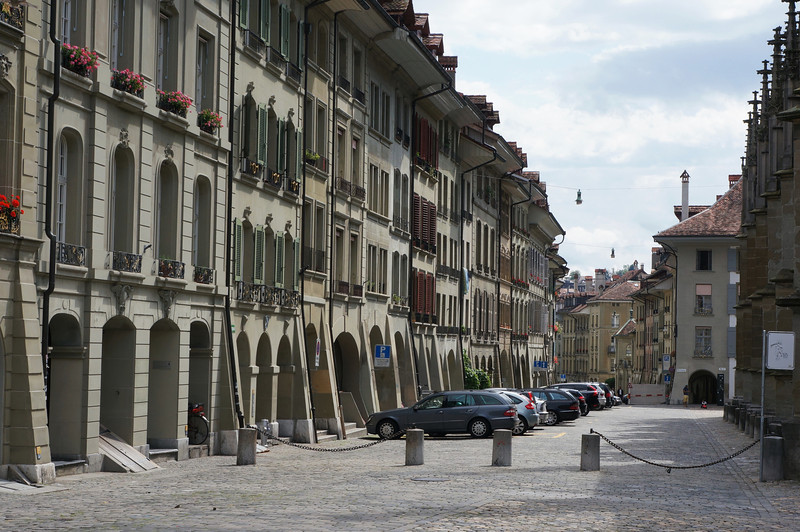 Bern is magnificent. The entire old city is constructed with arcades, making it possible to traverse most of the city without having to step out into the elements during the winter.