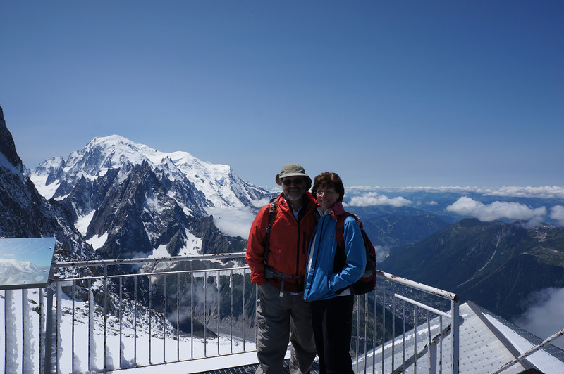 At Grands Montets (3275m; 10,744ft).