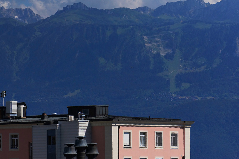 The mountains across lake Geneva are in France.