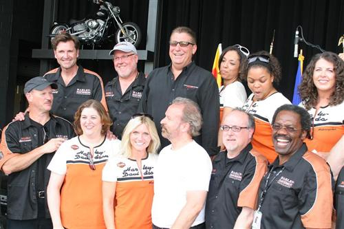 Group photo of the executive band before the opening ceremonies. This was so much fun!