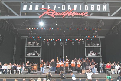 Opening Ceremonies of Summerfest @ The Harley Stage! June 26th, 2008.
