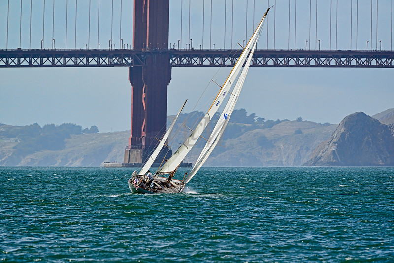 Sailing Ketch: San Francisco Bay, California