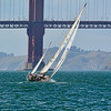 Sailing Ketch: San Francisco Bay, California