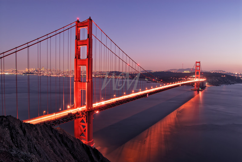 Golden Gate Bridge:  San Francisco, California