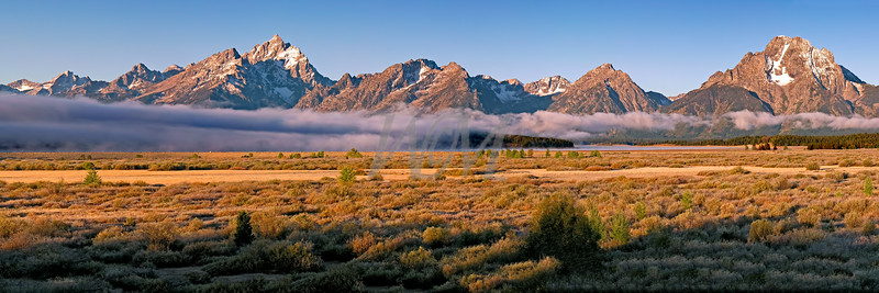 The Grand Teton Range, Grand Teton National Park, Jakson Hole, Wyoming