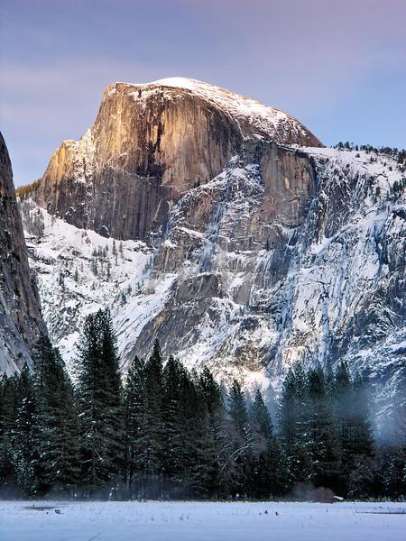 Half Dome at Sunset: Yosemite National Park, California