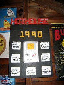 Bunk 7 plaque