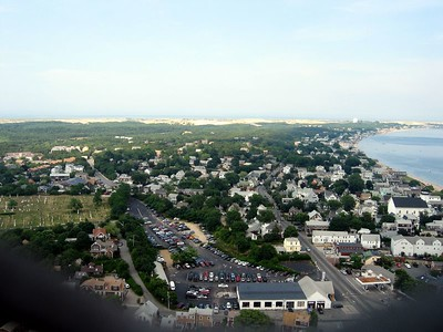 Provincetown from Pilgrim monumnet