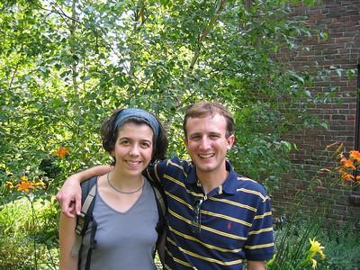 Sarah Biber and me