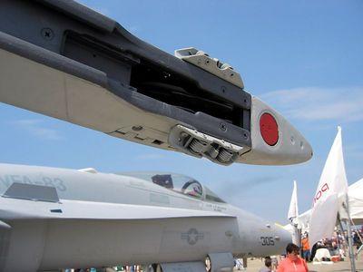 F-18 missile rail