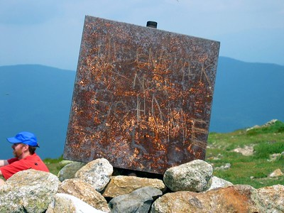Eisenhower summit marker