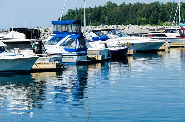 Summer marina