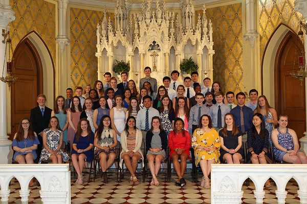 2017 Summit NHS Induction Ceremony