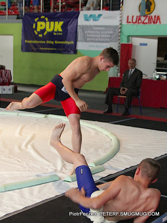 Poland Sumo Cadet & Junior Championships Ropczyce may 2012