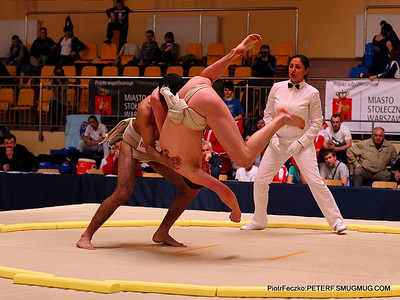 European Sumo Championship U23 Warsaw april 2013