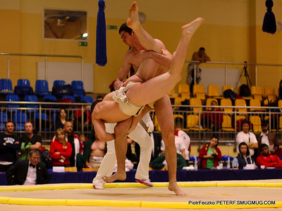 European Sumo Championship Warsaw april 2014 day I