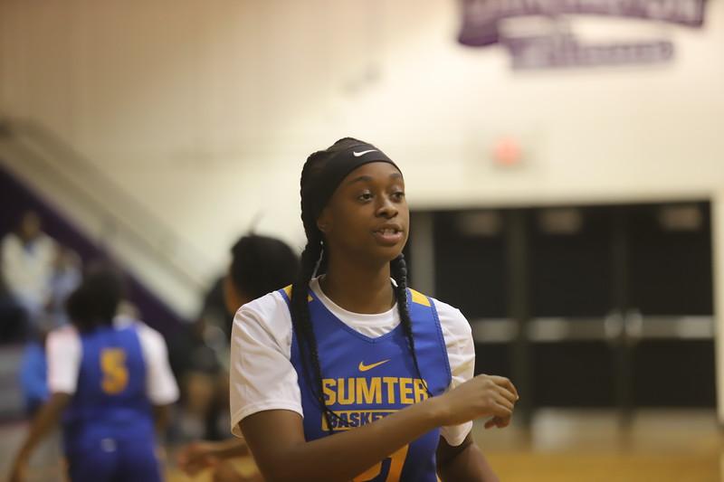 Sumter Girls Basketball Scrimmage 11/18/19