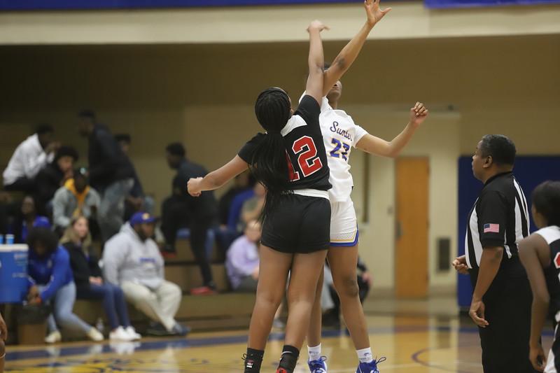 Sumter Girls Basketball vs. Hartsville 12/3/19