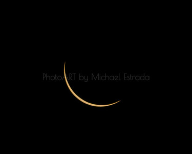2017 Solar Eclipse 2: Finger Nail Sun