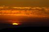 Fiery Sunset on Pilot Hill