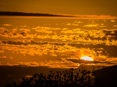 Palapas Sunset