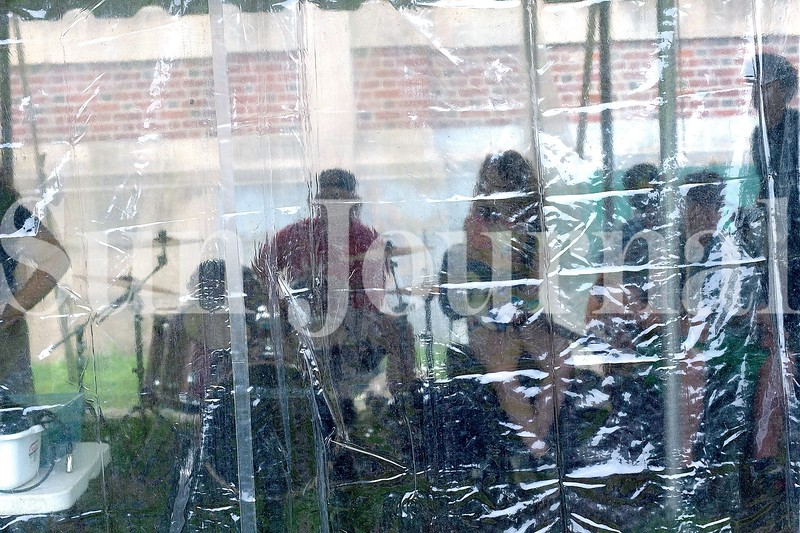 This summer's Camp of Rock band voted to call themselves Inattentive because they will have practiced underneath a tent for two weeks before their show Friday at Lost Valley in Auburn. The tent was used for added space and a COVID-19 precaution.