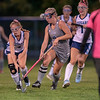 Action from Monday night's field hockey game between Dirigo and Mountain Valley in Dixfield on Oct. 11, 2021. Photo by Russ Dillingham/Sun Journal