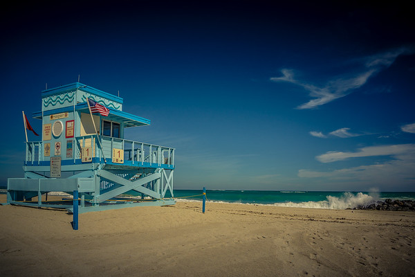 Lifeguard House No 1, Miami Beach, Fl.