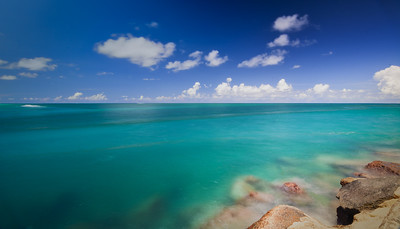 Clean Open Sea