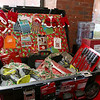 Wednesday was the first day to view the Sun Santa baskets at Lowell General Hospital. This basket was Santa's Sleigh repair kit basket. SUN/JOHN LOVE